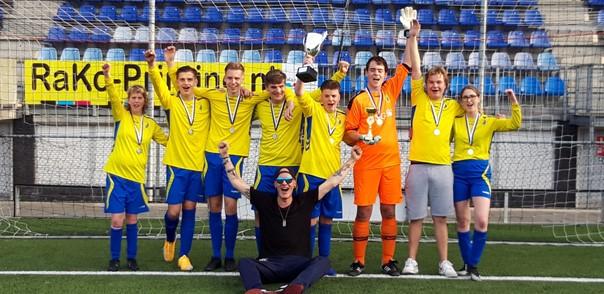 Emplina JG-1 kampioen Special Soccer toernooi!